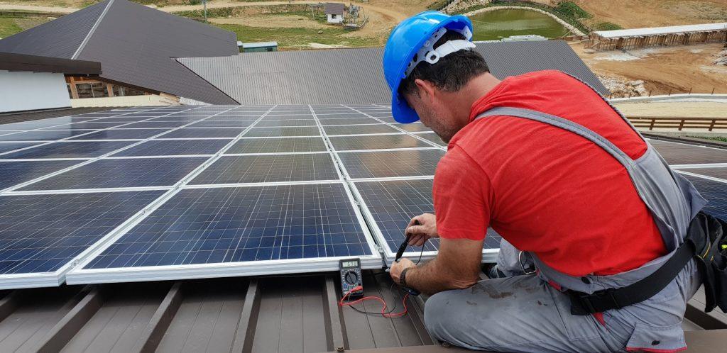 napelem napelempanel napelemes rendszer tető szerelés telepítés